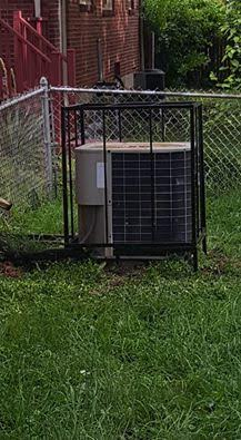 www.wrightmechanical.com productsair conditioners AC security cage Louisville, KY.